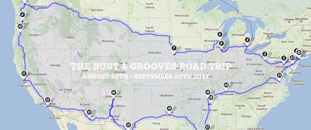 Initial Route Is Set Dust Amp Grooves Adventures In
